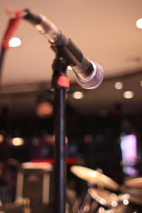 Cotton Club, Mikrophon