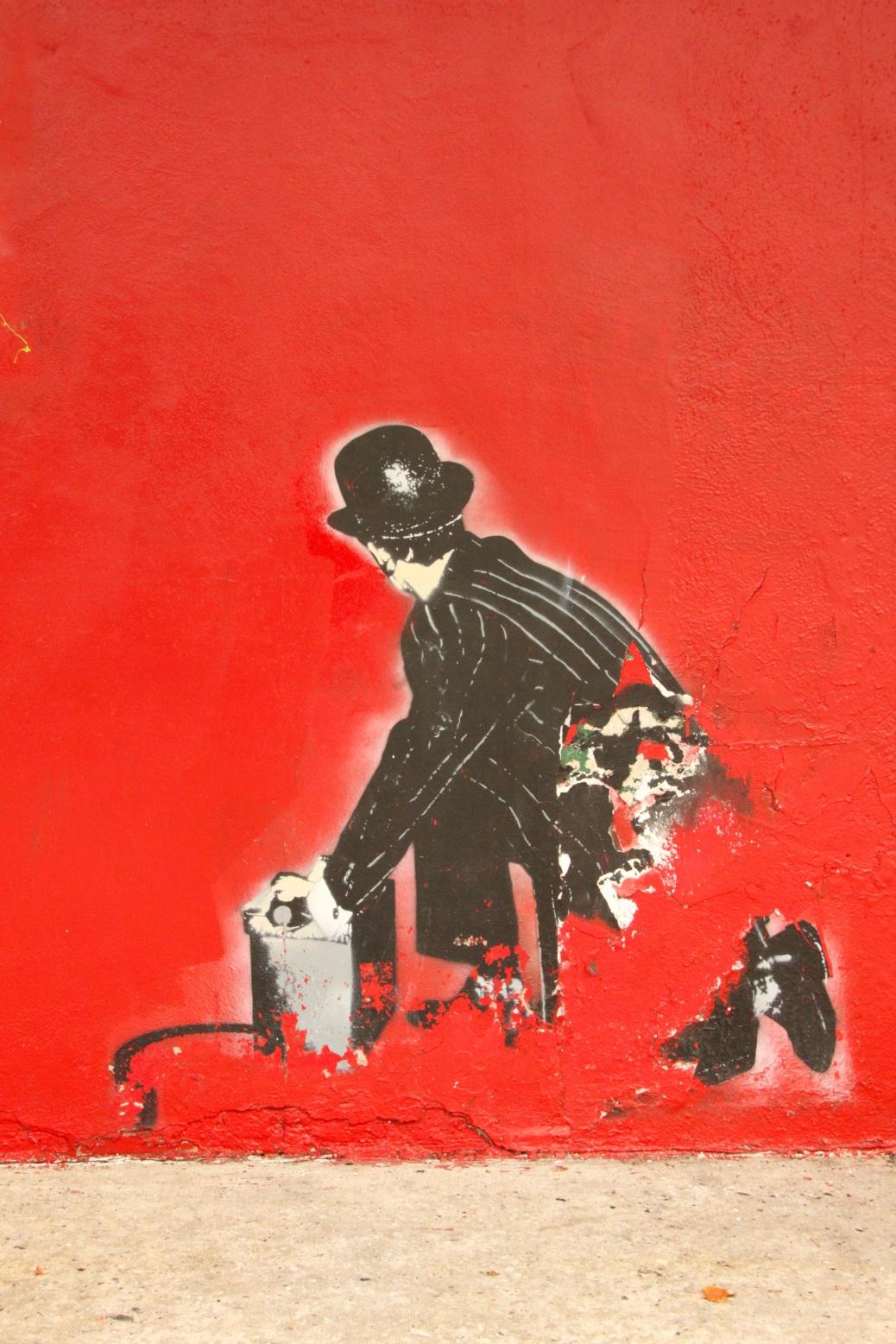 Graffiti NYC, Charlie Chaplin