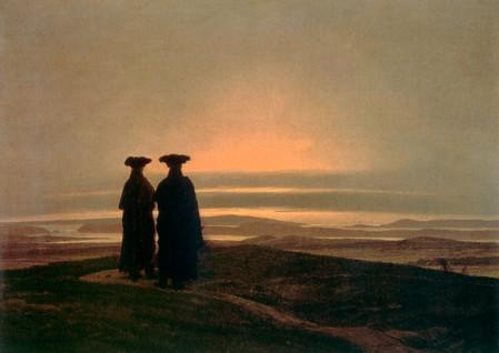 Caspar David Friedrich - Sonnenuntergang