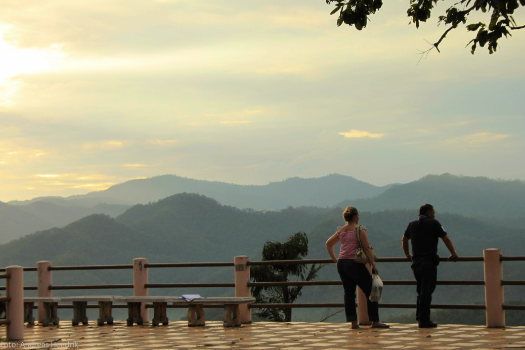 Jimmy Thailand showing panorama of Mae Hong Son