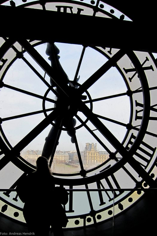 Musée d'Orsay Clock, Light and Shadow