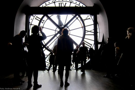 Musée d'Orsay Clock, Light and Shadows