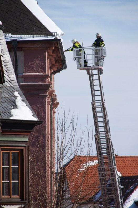 Feuerwehreinsatz, Kronberg
