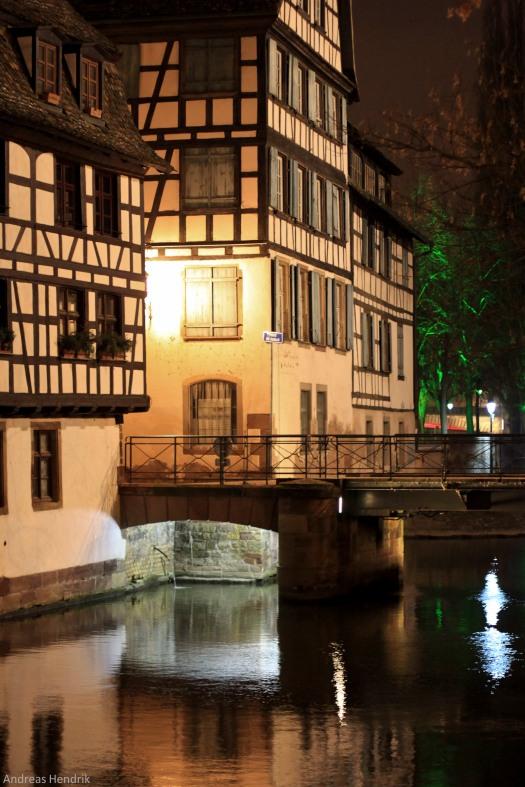 Strassburg by night Brücke