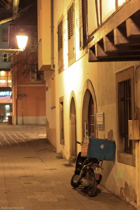 Strassburg by night motorbike-5