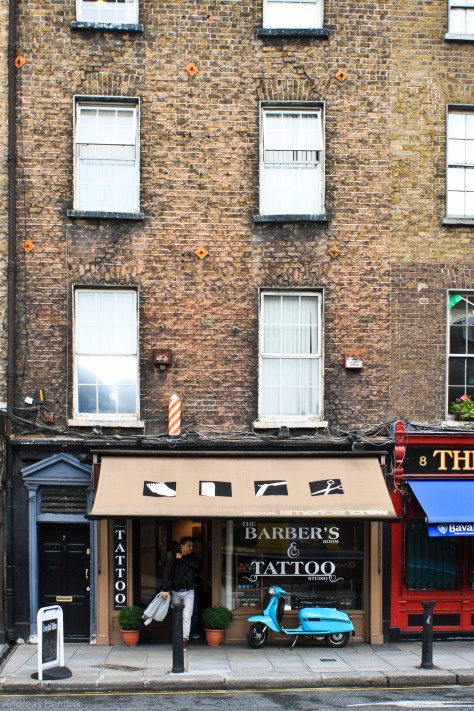 Barber's and Tattoo Shop Dublin