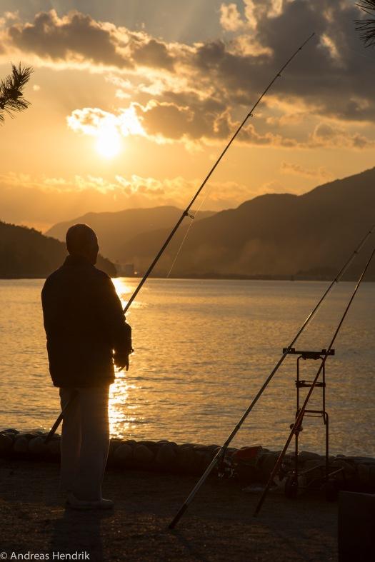 Fischer auf Miyajima Island-5