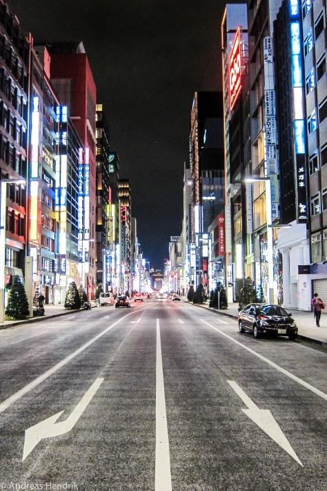 Tokio, Ginza