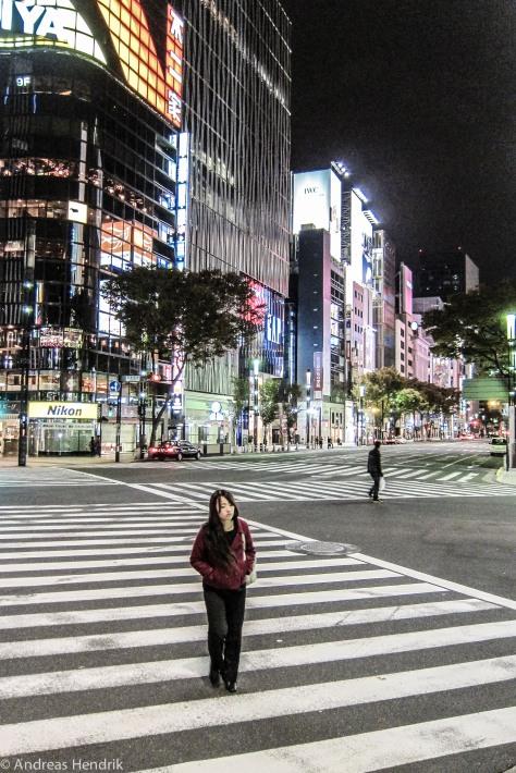 Tokio, Zebrastreifen, Sony