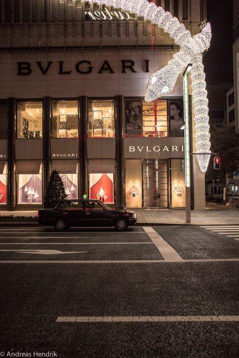 Tokio Taxi Bulgari