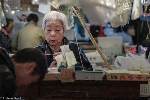 Fischerhändlerin
