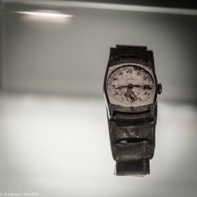 Zifferblatt Uhr, 8:16, Hiroshima