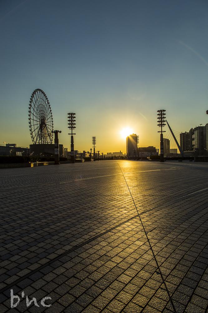 20131121 Riesenrad Tokio_Daikanransha_sunset bnc