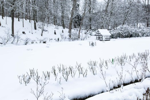 20150131_Gartenhäusschen im Schnee Schlosspark Bad Berleburg
