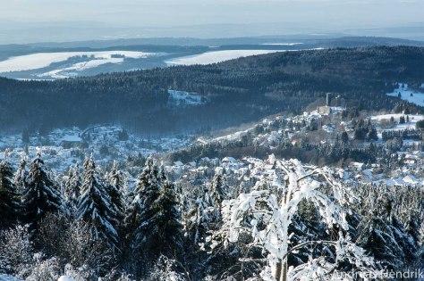 20150207_Blick vom Feldberg Taunus im Winter