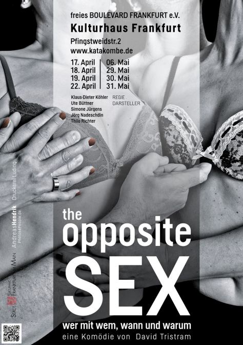 Plakat the opposite Sex Frankfurt