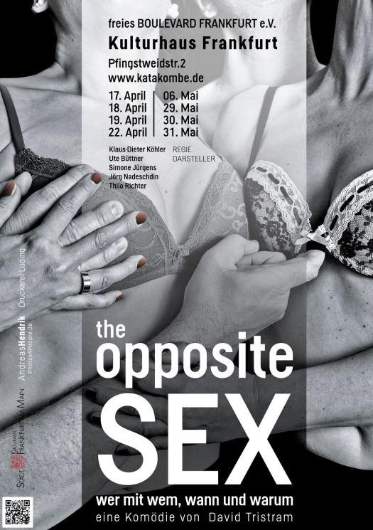 Plakat the opposite Sex Frankfurt